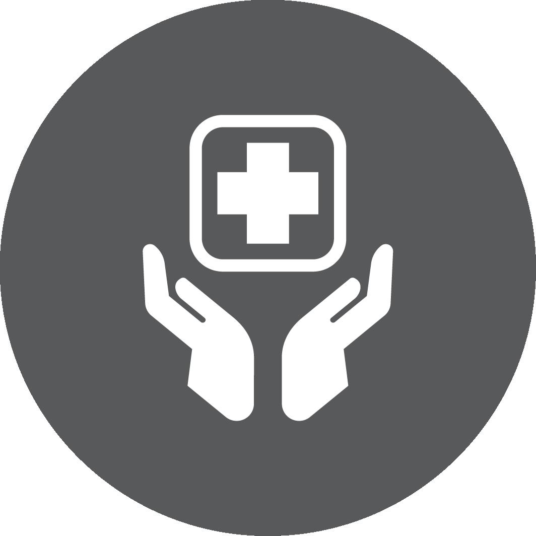 Icon of health kit